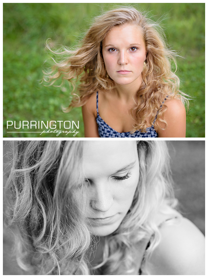 beautiful closeup of high school senior girl © Purrington Photography www.PurringtonPhotography.com Bemidji Northern Minnesota MN Senior Portrait Photographer