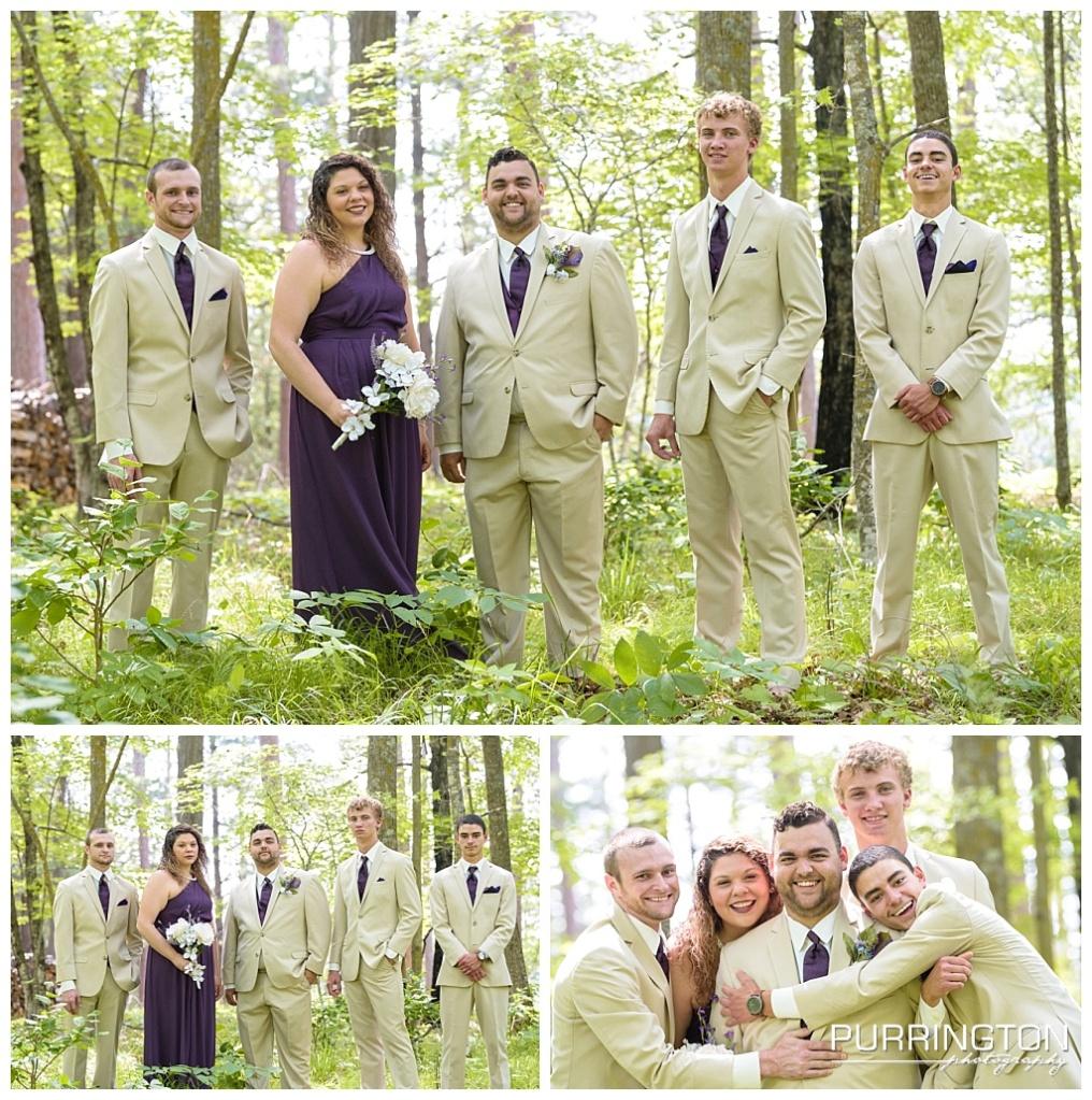 groomsmen and groomswoman